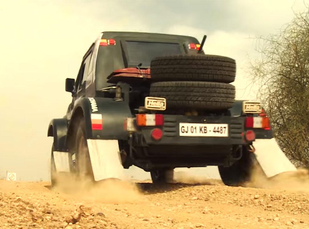 Maruti Suzuki Desert Storm 2017 Teaser