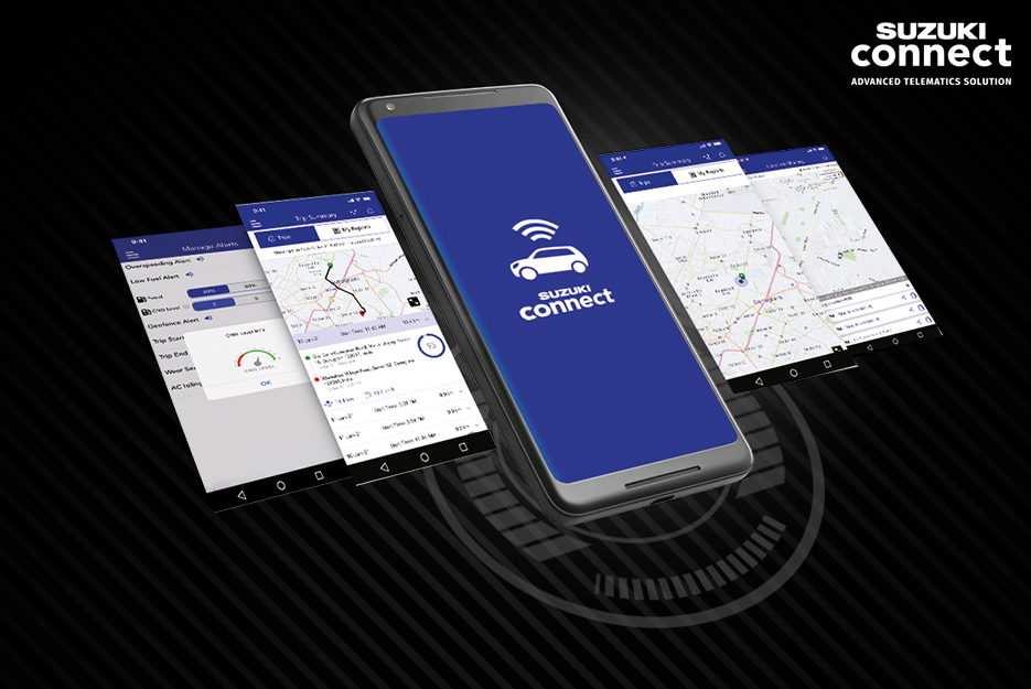 Suzuki Connect - Connected cars