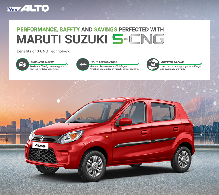 Alto S-CNG Banner
