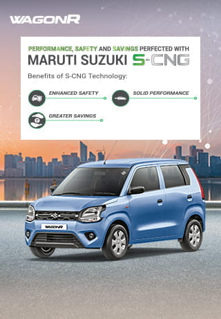 WagonR S-CNG Banner