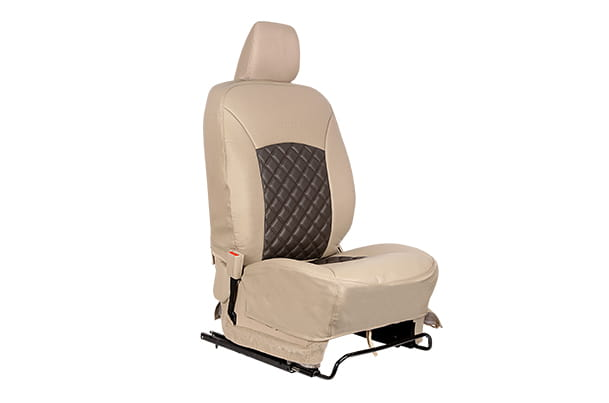 Seat Cover - Nutmag and Grey (PU) | Ertiga