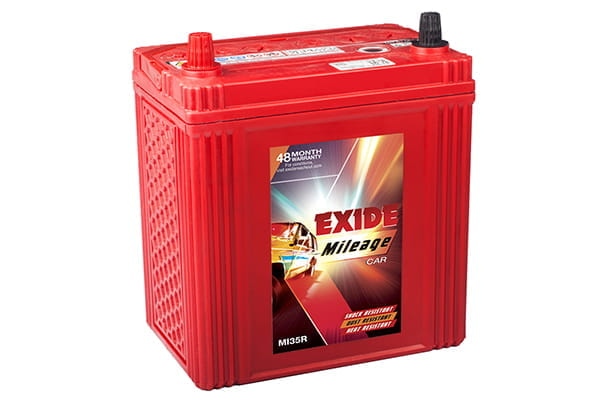 Car Battery | Exide 38B20LMF - Petrol | Vitara Brezza \ XL6 \ WagonR \ Swift \ Dzire