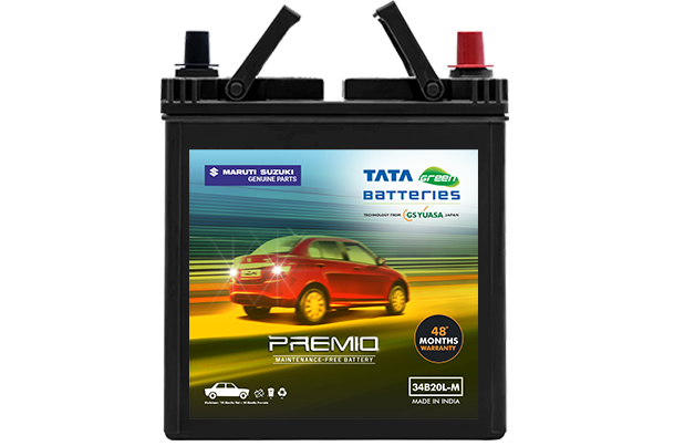 Car Battery | Tata Green 34B20 - Petrol | Dzire