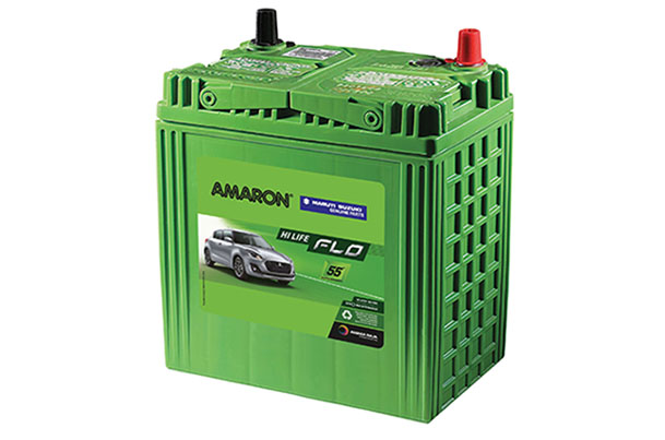 Car Battery | Amaron DIN50 - Diesel | XL6 \ Baleno \ Swift \ Dzire \ Ciaz