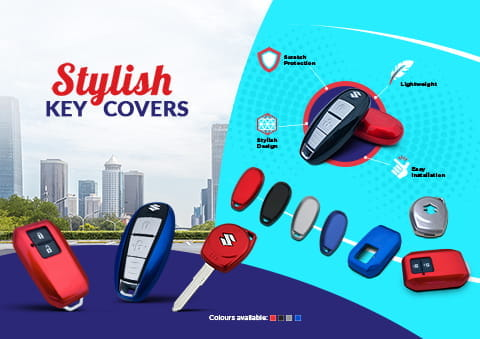 Stylish Key Covers - MSGA
