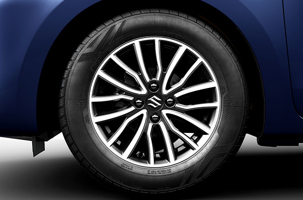 Alloy Wheel Diamond Cut 38.10 cm (15) | Swift