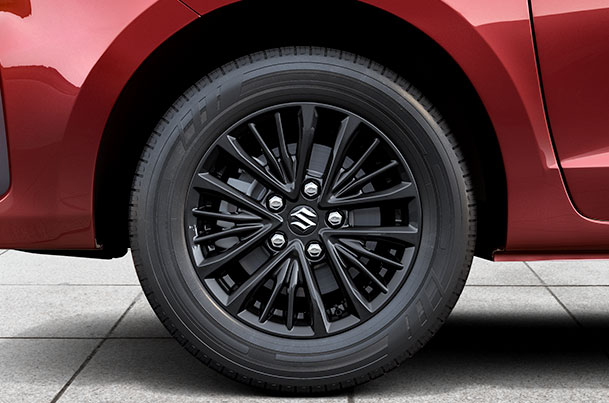 Alloy Wheel Black 38.10 cm (15) | Ertiga