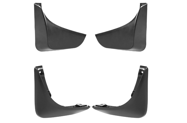 Mud Flap Set - Front & Rear (Black) | Swift