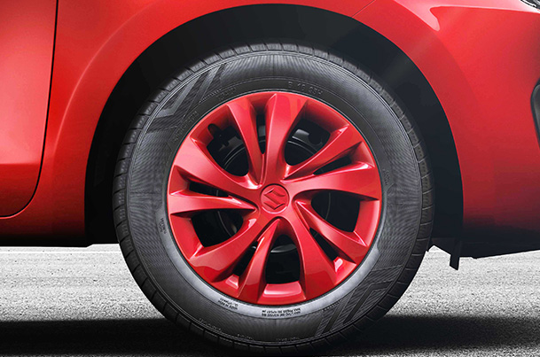 Wheel Cover (Red) 35.56 cm (14)