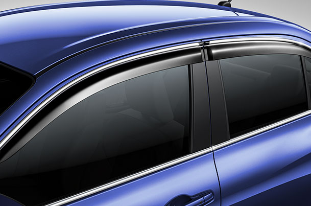 Door Visor - With Chrome Insert | Dzire