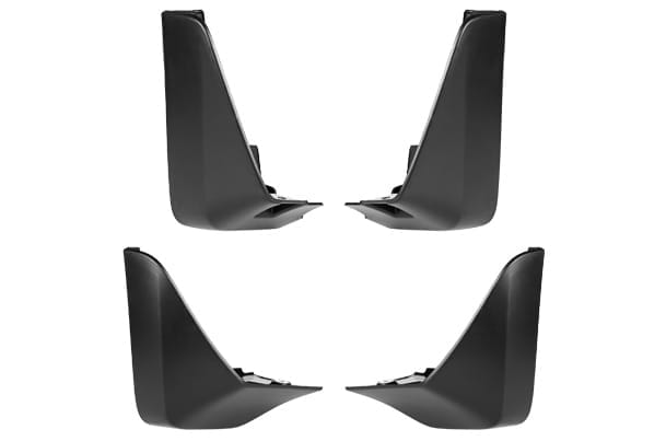Mud Flap Set - Front & Rear (Black) | Baleno