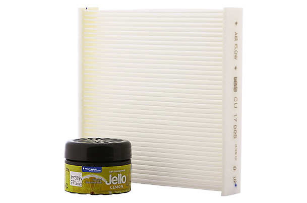 PM10 Cabin Air Filter & Organic Perfume (Lemon) Package | Ignis