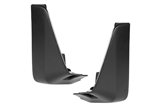Mud Flap Set - Rear (Black) | Baleno