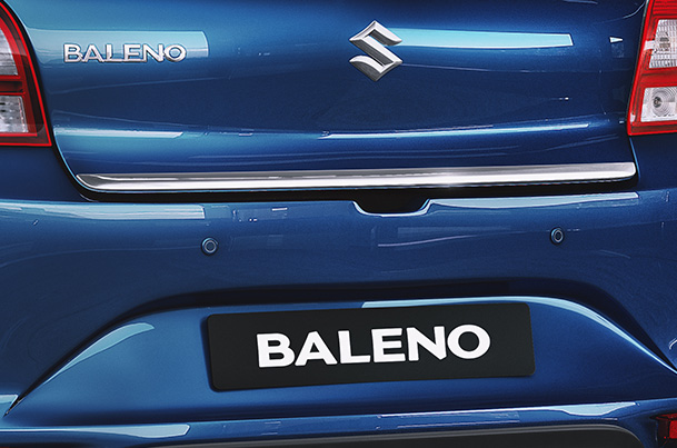 Back Door Garnish (Chrome) | Baleno