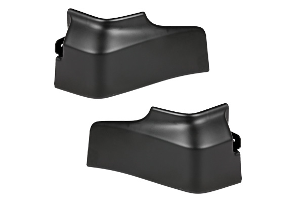 Mud Flap Set -  Front (Black) | Celerio