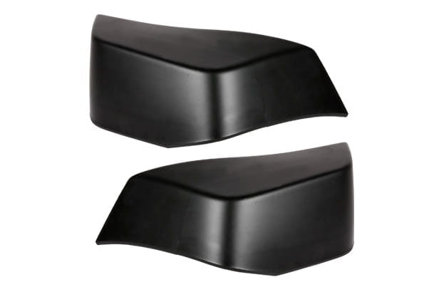 Mud Flap Set -  Rear (Black) | Celerio