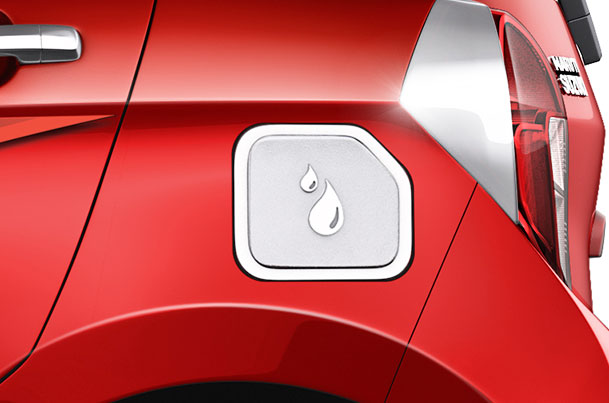Fuel Lid Cover (Chrome) | Celerio