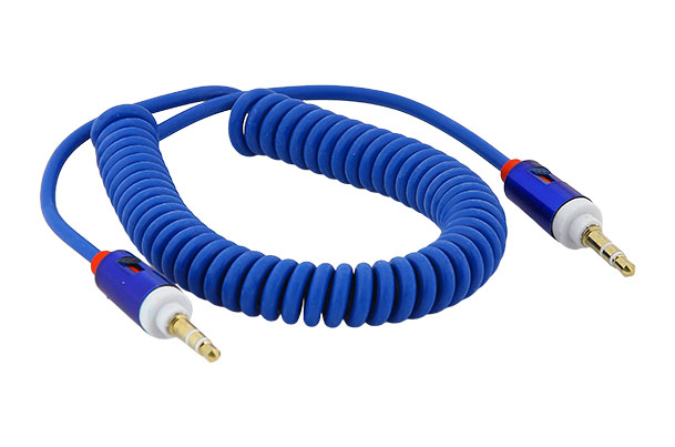 Auxiliary Audio Cable (Blue)