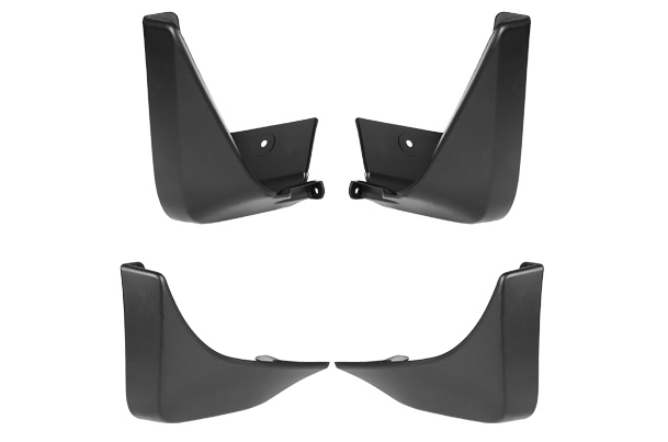 Mud Flap Set -  Front & Rear (Black) | Old Swift