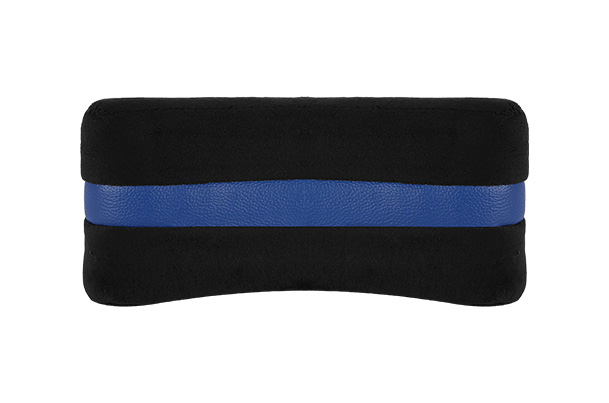Cushion - Neck Support (Black & Blue) | 2 Pieces